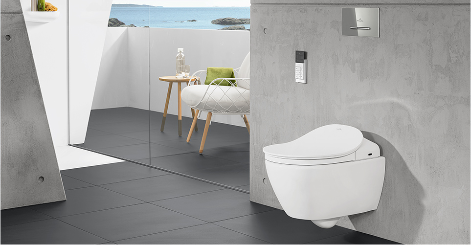 villeroy boch viclean shower toilets. Black Bedroom Furniture Sets. Home Design Ideas