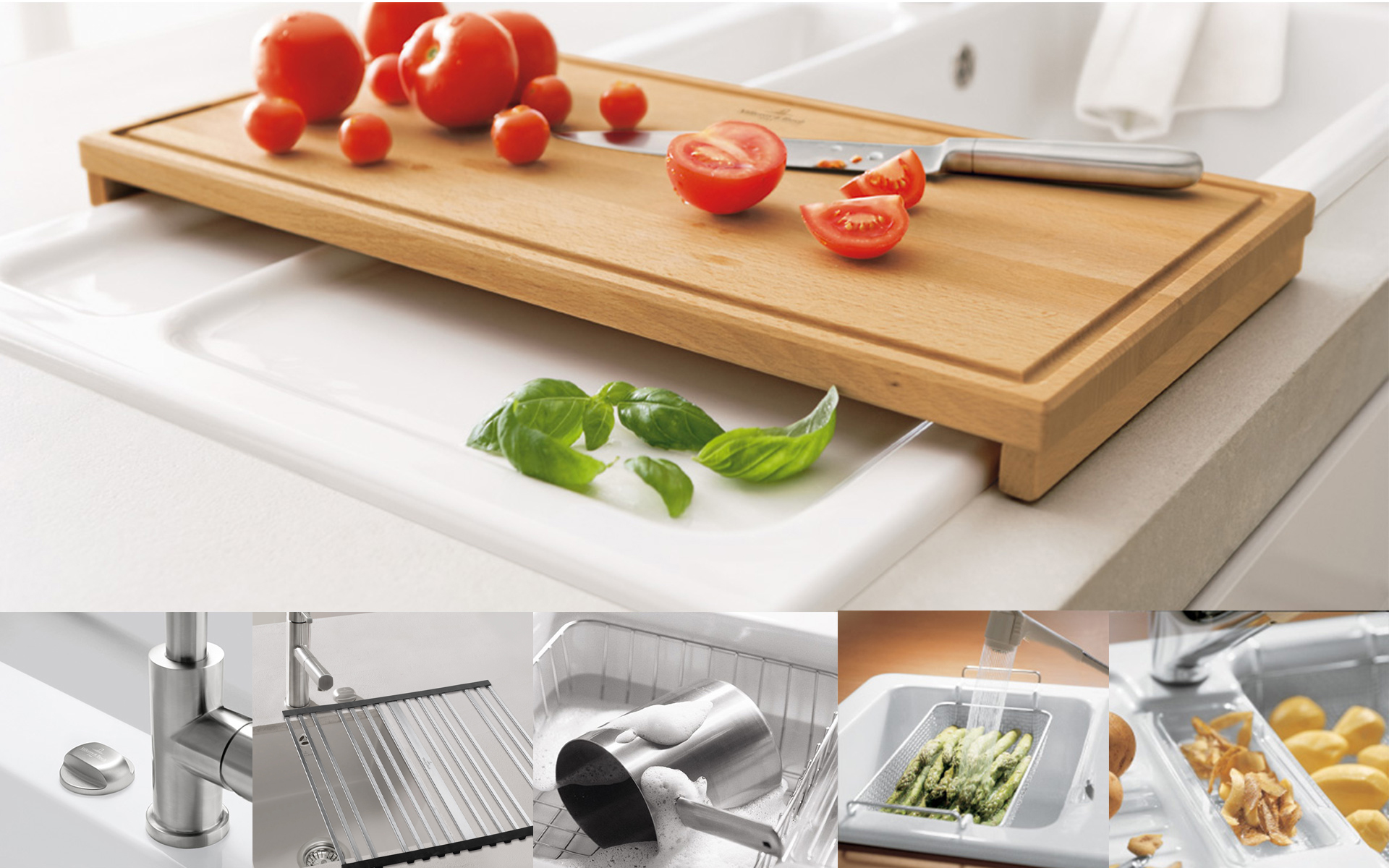 Kitchen accessories from Villeroy & Boch – for more fun in the kitchen