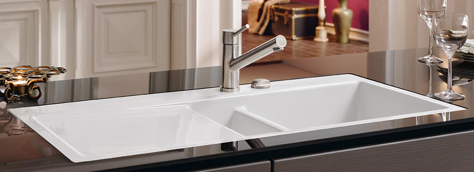 high quality ceramic sink from villeroy boch. Black Bedroom Furniture Sets. Home Design Ideas