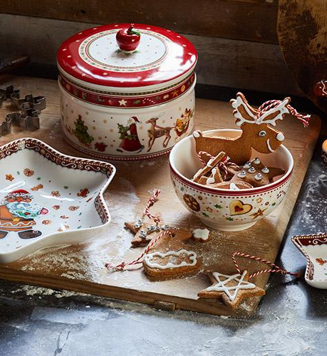 christmas baking with villeroy boch. Black Bedroom Furniture Sets. Home Design Ideas
