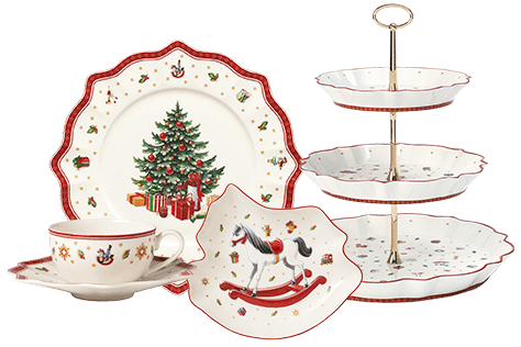 christmas day breakfast with villeroy boch. Black Bedroom Furniture Sets. Home Design Ideas