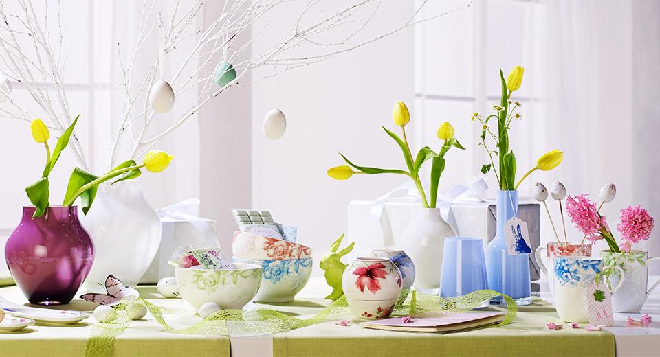 spring awakening at villeroy boch. Black Bedroom Furniture Sets. Home Design Ideas