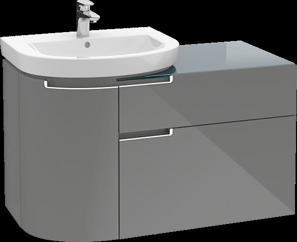 subway 2 0 vanity unit a9201r villeroy boch. Black Bedroom Furniture Sets. Home Design Ideas